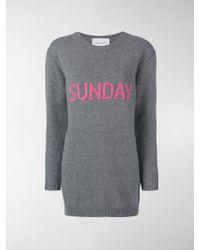 Alberta Ferretti - Sunday Sweater Dress - Lyst