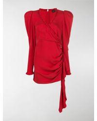 Magda Butrym - Drapped Short Dress - Lyst