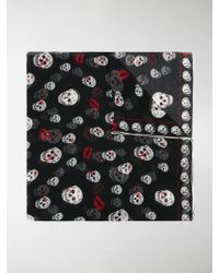 Alexander McQueen - Chained Skull Scarf - Lyst