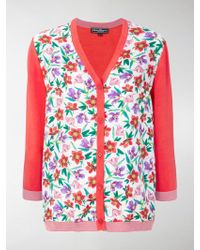 Ferragamo | Floral Print Cardigan | Lyst
