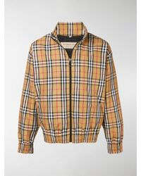 Burberry - House Check-print Jacket - Lyst