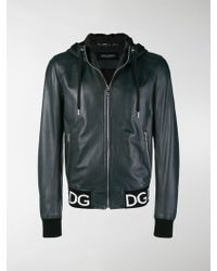 Dolce & Gabbana - Logo-detail Jacket - Lyst
