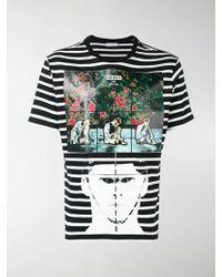 JW Anderson - Gilbert & George Print T-shirt - Lyst