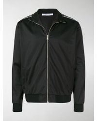 Givenchy - Ticker Sleeve Logo Zip Up Track Jacket - Lyst