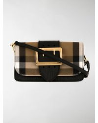Burberry - House Check Crossbody Bag - Lyst