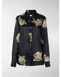 Dries Van Noten - Camicia con motivo floreale - Lyst