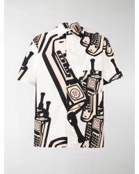 Maison Margiela - Camicia con stampa - Lyst