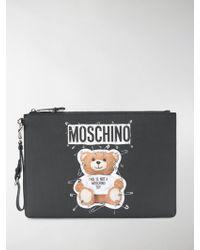 Moschino - Teddy Bear Print Pouch - Lyst