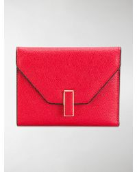 Valextra - Square Envelope Purse - Lyst
