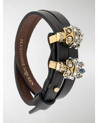 Alexander McQueen | Bracciale Queen And King | Lyst