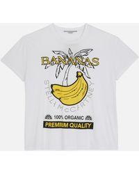 Stella McCartney - Bananas Print T-shirt - Lyst