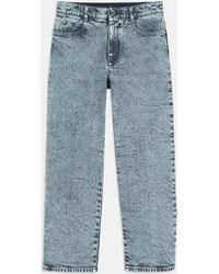 Stella McCartney - 80s Wash High Waisted Cropped Jeans - Lyst