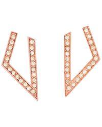St. John - Sale Swarovski Crystal Earring - Lyst