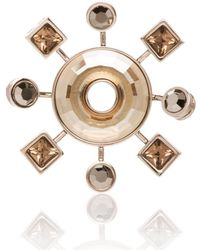 St. John - Swarovski Crystal Pin - Lyst