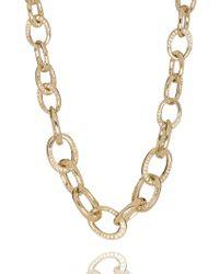 St. John - Sale Swarovski Crystal Chain Link Necklace - Lyst