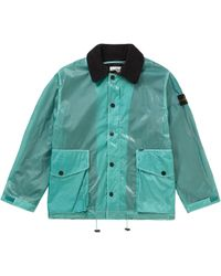 858df114 Supreme Stone Island Nylon Metal Track Jacket Royal in Blue for Men - Save 6%  - Lyst