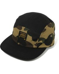 8ad7ded23bf Lyst - A Bathing Ape A Bathing Ape Jet Cap Olivedrab for Men