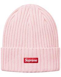 b5c83637f Supreme Digi Camo Beanie Pink Digi Camo in Pink - Lyst
