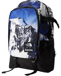 7ec507fcf82a Supreme - The North Face Mountain Expedition Backpack Blue white - Lyst