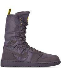 Snow Rosherun Boots Gray Sherpa Print In Lyst Nike n0OkP8wX