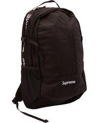 Supreme - Backpack (ss18) Black - Lyst