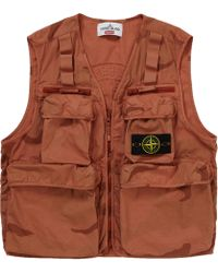 62306c77 Supreme Mesh Cargo Vest Light Olive in Green for Men - Lyst