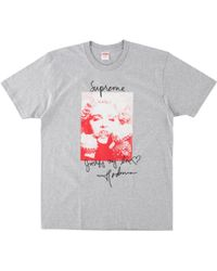19acde0a1 Supreme Madonna T-shirt 'fw 18' in Blue for Men - Lyst