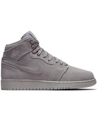 84c5d3b158aeac Lyst - Nike Air Force 1 High  07 Lv8 Suede Sneaker in Gray for Men