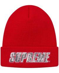 Lyst - Sofia Cashmere Sequin Knit Hat W  Fur Pompom dbfb6b41963