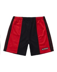 21f394934c Supreme Barbed Wire Athletic Short White in White for Men - Lyst