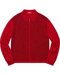 a401e7308da45 Lyst - Victorinox Maverick Half-Zip Sweater in Red for Men