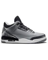 fd8a4afca2b Lyst - Nike Jordan Clutch Black white-wolf Grey 845043-010 in Black ...