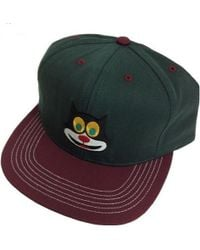 db25422d89f Lyst - Gucci Wool Hat With Angry Cat in Black for Men
