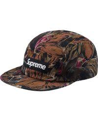 ecaa5b8da6cd3 Stussy X Uo Floral Mesh Bucket Hat in Black for Men - Lyst