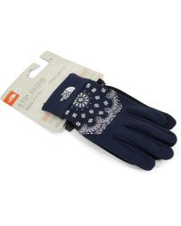 Supreme - The North Face Bandana Gloves Navy - Lyst