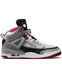 862d64b4 Nike 1 Retro High Flyknit Wolf Grey in Gray for Men - Lyst