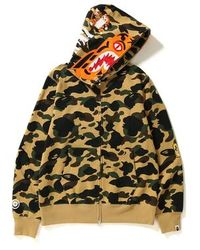 390cc315 A Bathing Ape Xxv Cities Camo Tiger Full Zip Hoodie Navy in Blue for Men -  Lyst