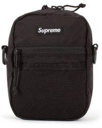 d94306e3701 Lyst - Supreme Lacoste Shoulder Bag in Black