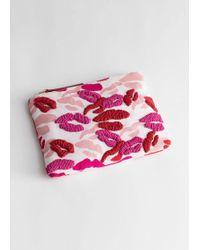 & Other Stories - Beaded Kiss Pouch - Lyst