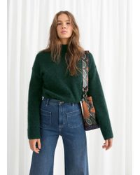 & Other Stories - Bell Sleeve Turtleneck Sweater - Lyst