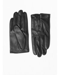 & Other Stories - Short Leather Gloves - Lyst