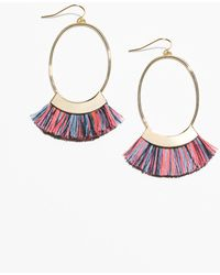 & Other Stories - Oval Fringe Earrings - Lyst