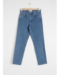 & Other Stories - Straight Stretch Jeans - Lyst