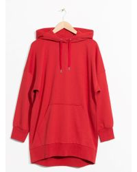& Other Stories | Oversized Hoodie Dress | Lyst