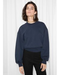 & Other Stories - Boxy Sweatshirt - Lyst