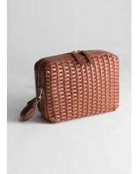 & Other Stories - Basket Weave Crossbody Bag - Lyst