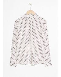 & Other Stories - Silk Shirt - Lyst