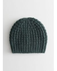 & Other Stories - Cable Rib Knit Beanie - Lyst
