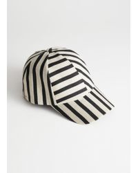 2cc43bfdc7358 John Lewis and Partners ·   Other Stories - Striped Cap - Lyst