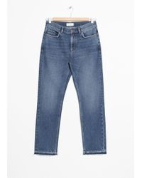 & Other Stories - Raw Edge Slim Jeans - Lyst